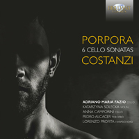 Porpora/Costanzi: 6 Cello Sonatas