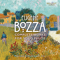 Bozza: Complete Works for Solo Flute