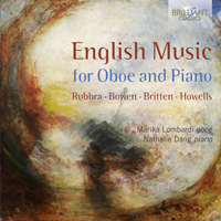 English Music for Oboe and Piano