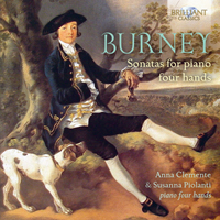 Burney: Sonatas for Four Hands
