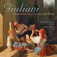 Giuliani: Nocturnes for Clarinet and Harp