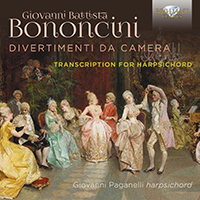 Bononcini: Divertimenti da Camera, Transcription for Harpsichord