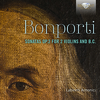 Bonporti: Sonatas Op.2 for 2 Violins and B.C.