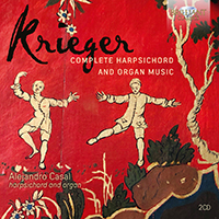 Krieger: Complete Harpsichord and Organ Music