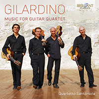 Gilardino: Music for Guitar Quartet