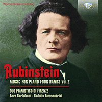 Rubinstein: Music for Piano Four Hands, Vol. 2