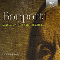 Bonporti: Sonatas Op. 1 for 2 Violins and B.C.