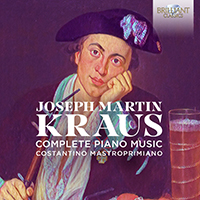 Kraus: Complete Piano Music