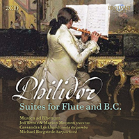 Philidor: Suites for Flute and B.C.