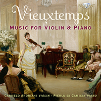 Vieuxtemps: Music for Violin & Piano