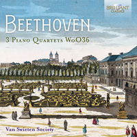 Beethoven: 3 Piano Quartets WoO36