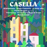 Casella: Music for Piano & Orchestra