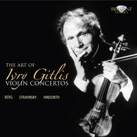 The Art of Ivry Gitlis, Violin Concertos