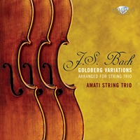 J.S. Bach: Goldberg Variations for String Trio
