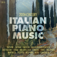 20th Century Italian Piano Music
